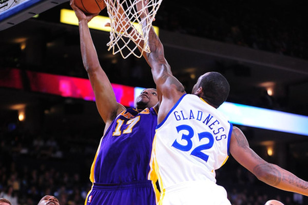 Gladness has been able provide the Santa Cruz Warriors with his shot blocking services this season