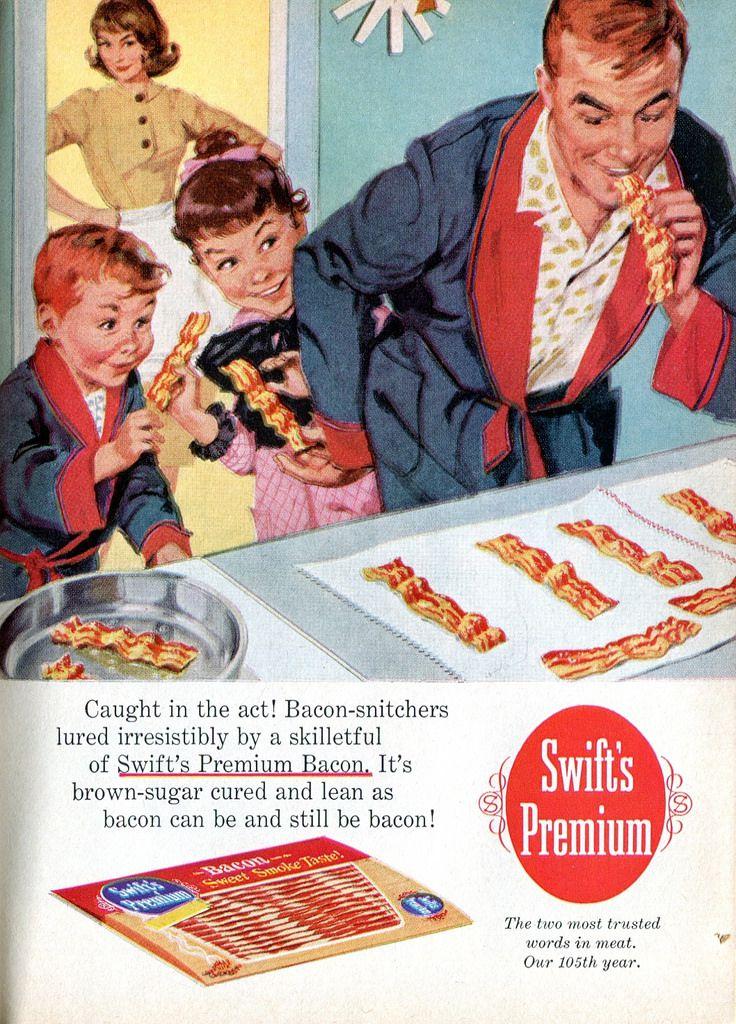 1960 Bacon Ad