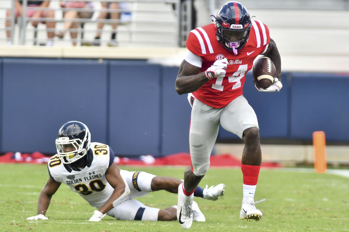 NCAA Football: Kent State at Mississippi