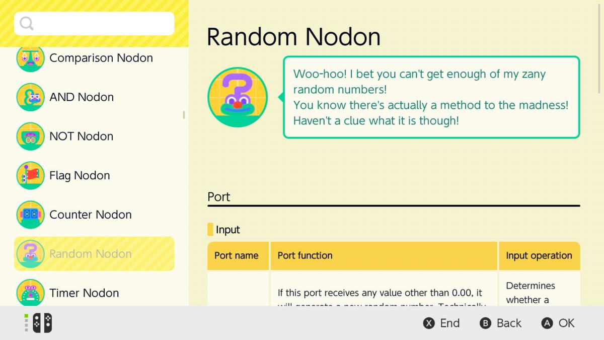 The Random Node in Game Builder Garage