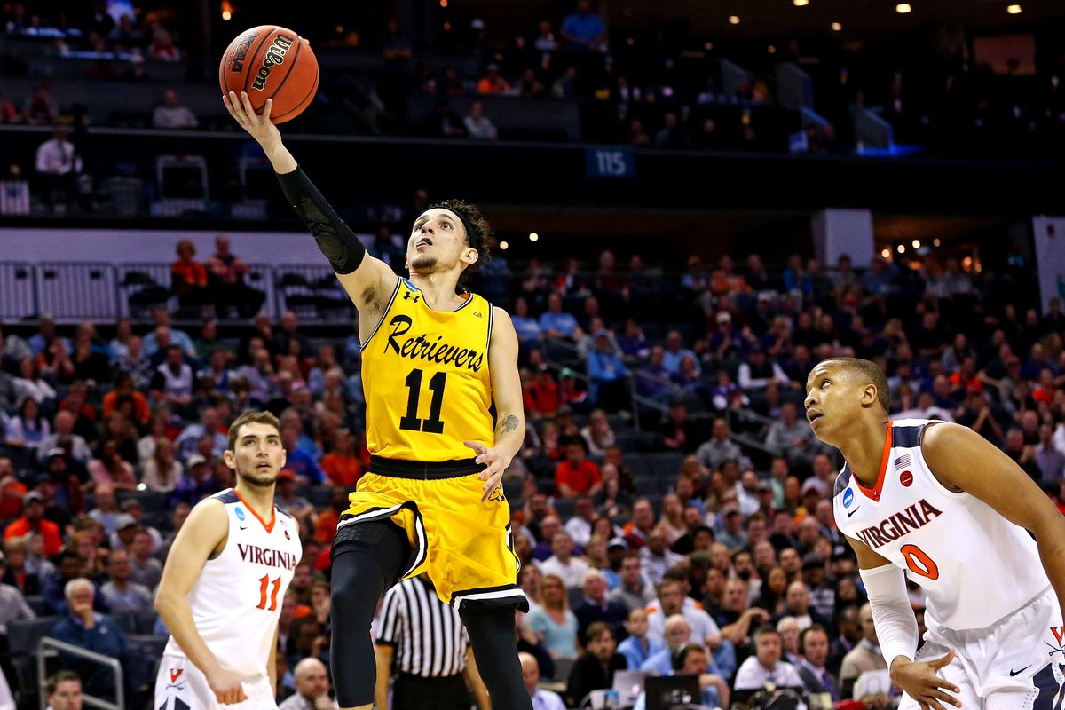 f6dc861c1880 How UMBC shocked Virginia to become first No. 16 seed to ever beat a No. 1  seed