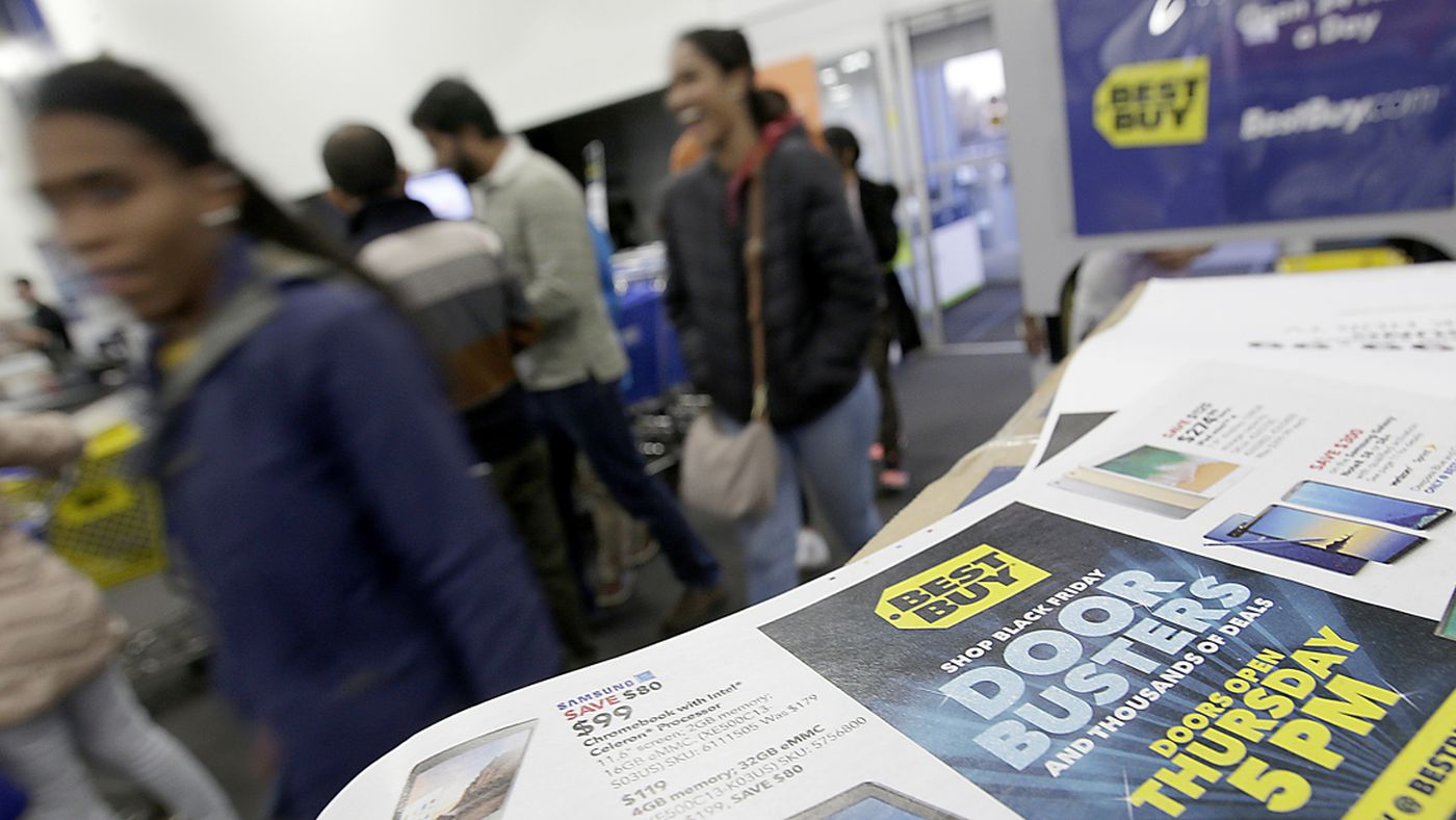 After Weeks Of Deals Stores Aim To Draw Black Friday Crowds Deseret News