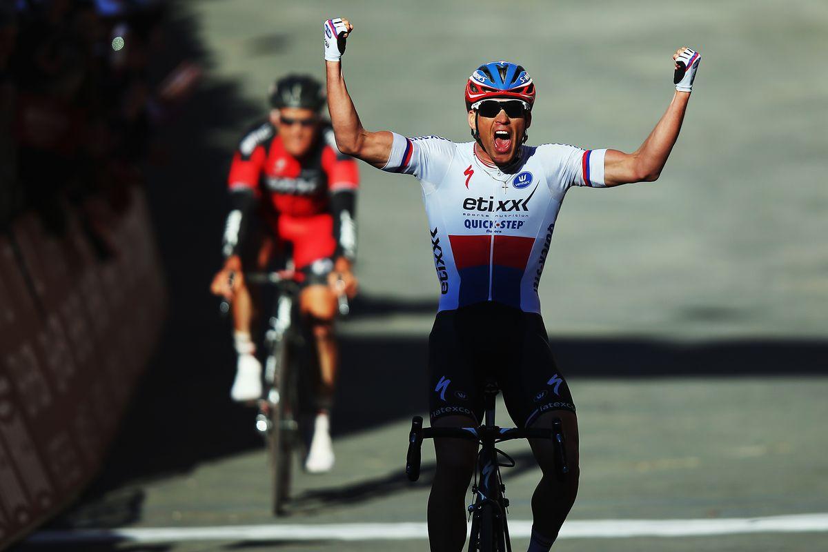 Stybar wins Strade Bianche