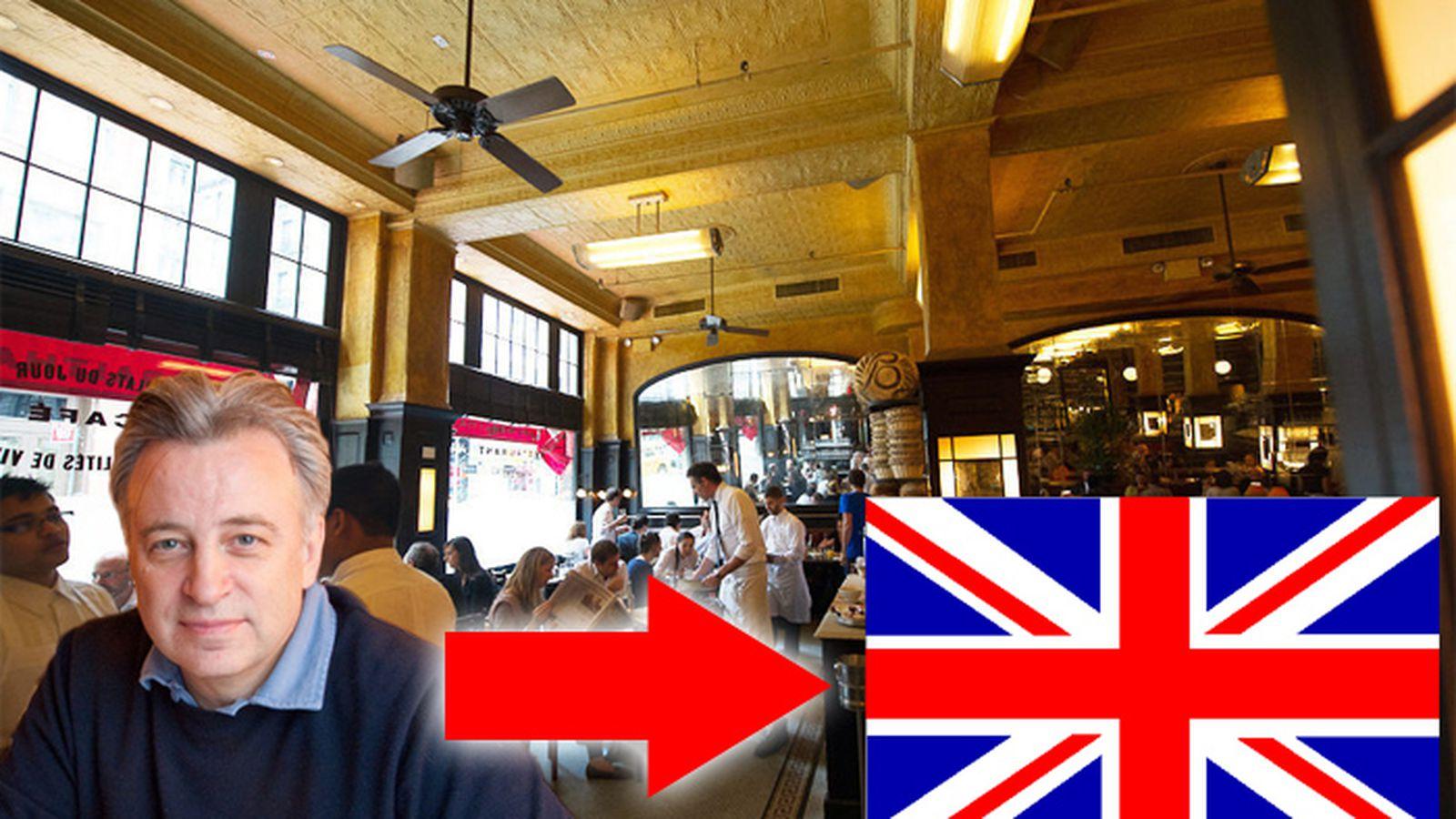 Keith mcnally confirms balthazar to open in london eater for Keith mcnally