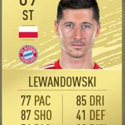 Robert Lewandowski in FIFA 2020
