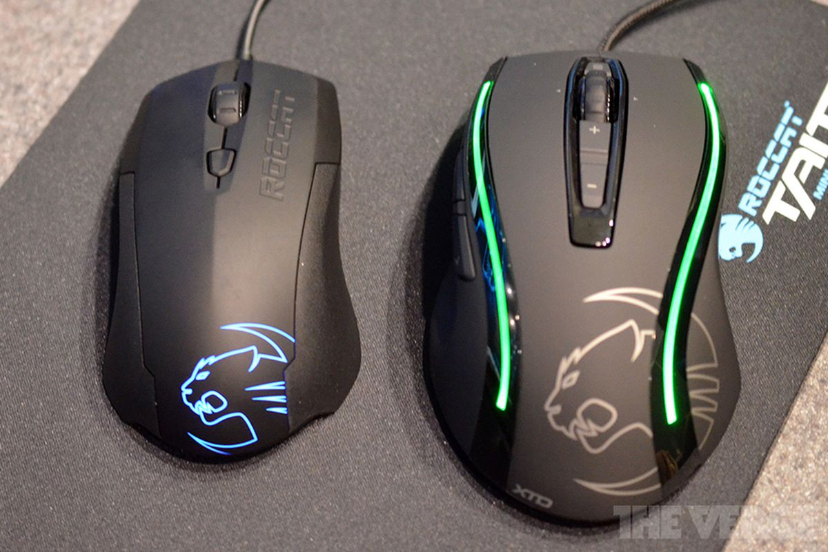 Roccat's new Kone XTD and Lua mice hands-on - The Verge