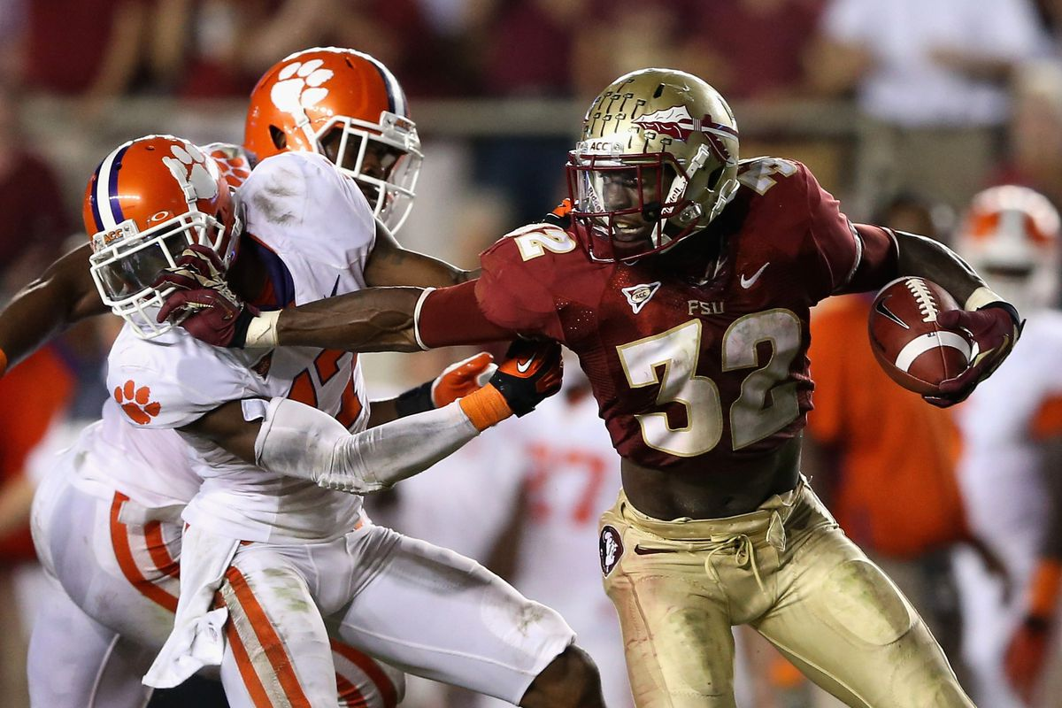 Florida State attempts to hold off Clemson's claim on the division crown. What else is new?