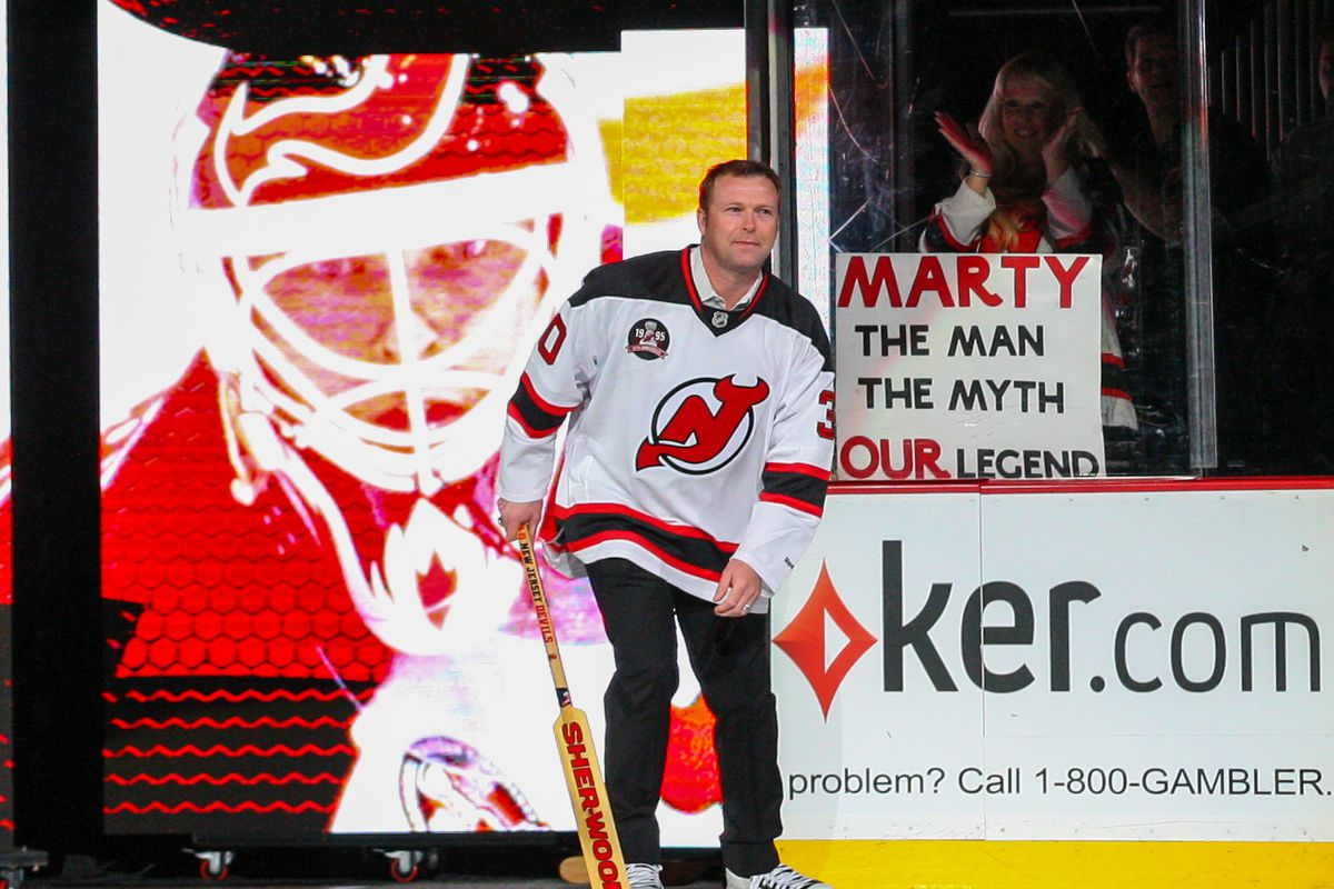 Devils Announce Martin Brodeur Jersey Retirement Celebration Events