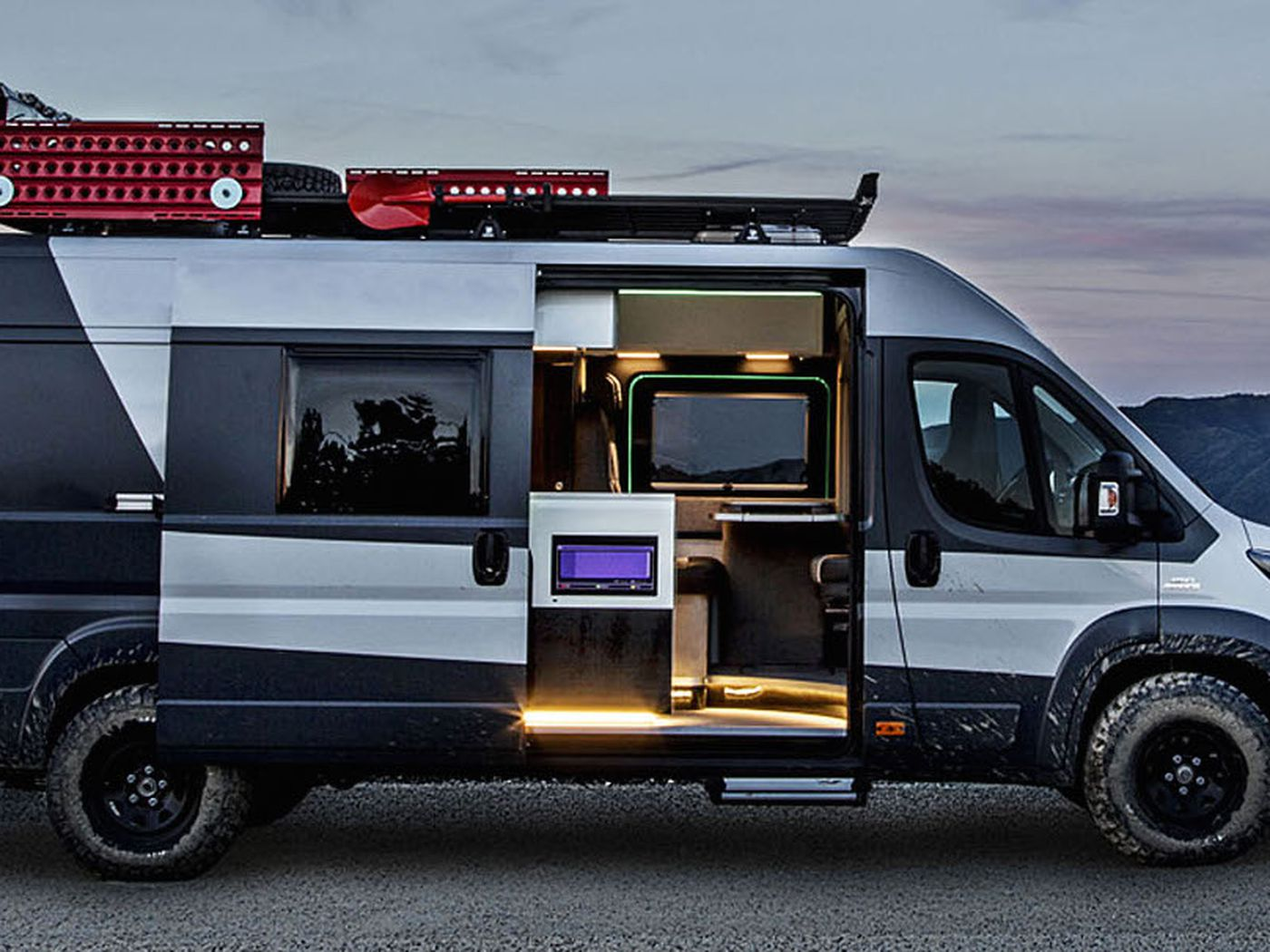 Camper Cars Italian Car Company Fiat Goes Big With Sporty Camper Vans Curbed