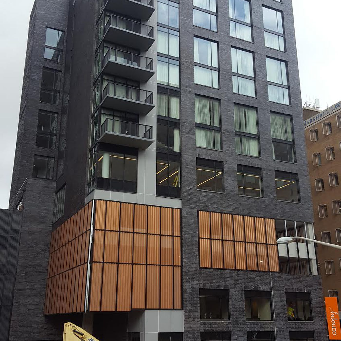 Photos: Midtown\'s artsy Canopy hotel is coming together on West ...