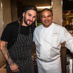 Steve Angello and Joseph Elevado at Andrea's.