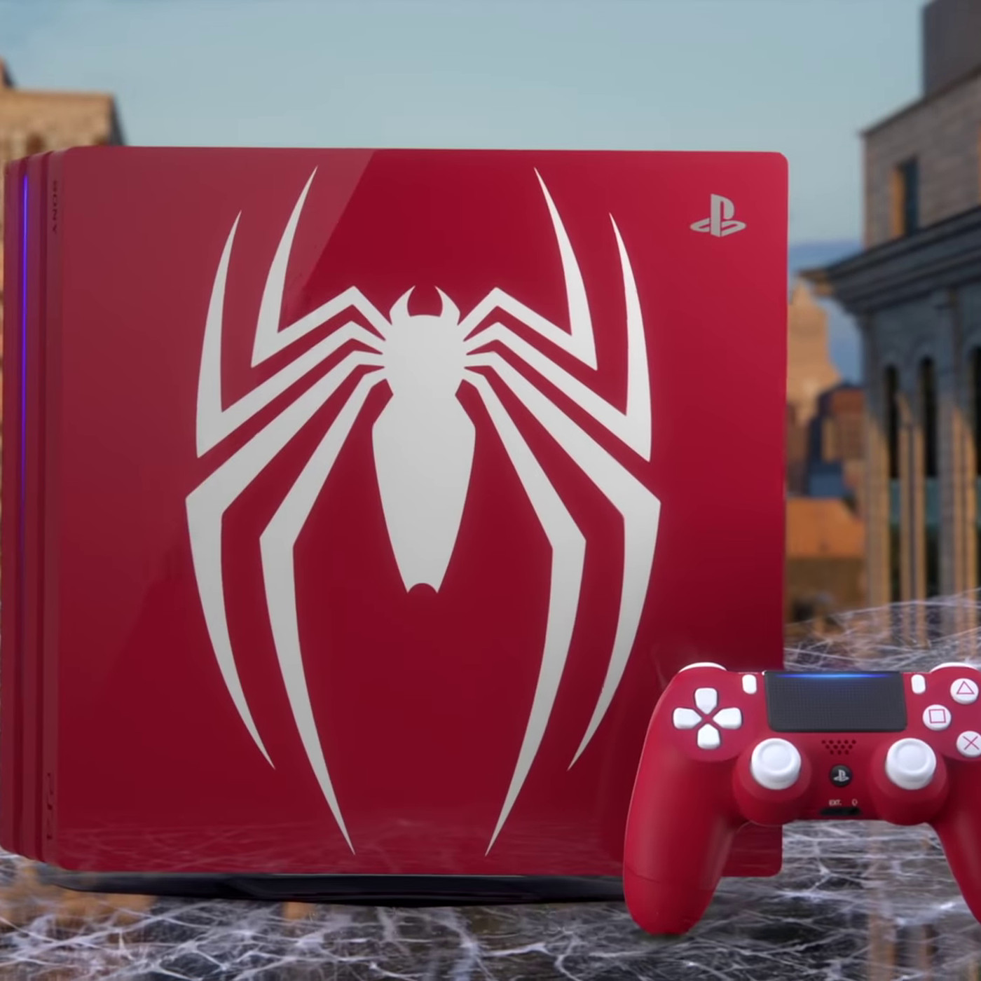 Spider-Man gets a friendly neighborhood PS4 Pro bundle at