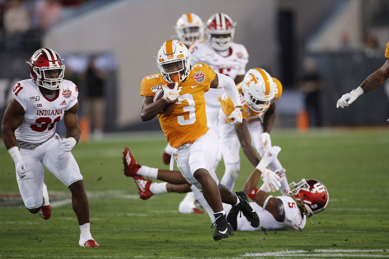 TaxSlayer Gator Bowl - Indiana v Tennessee