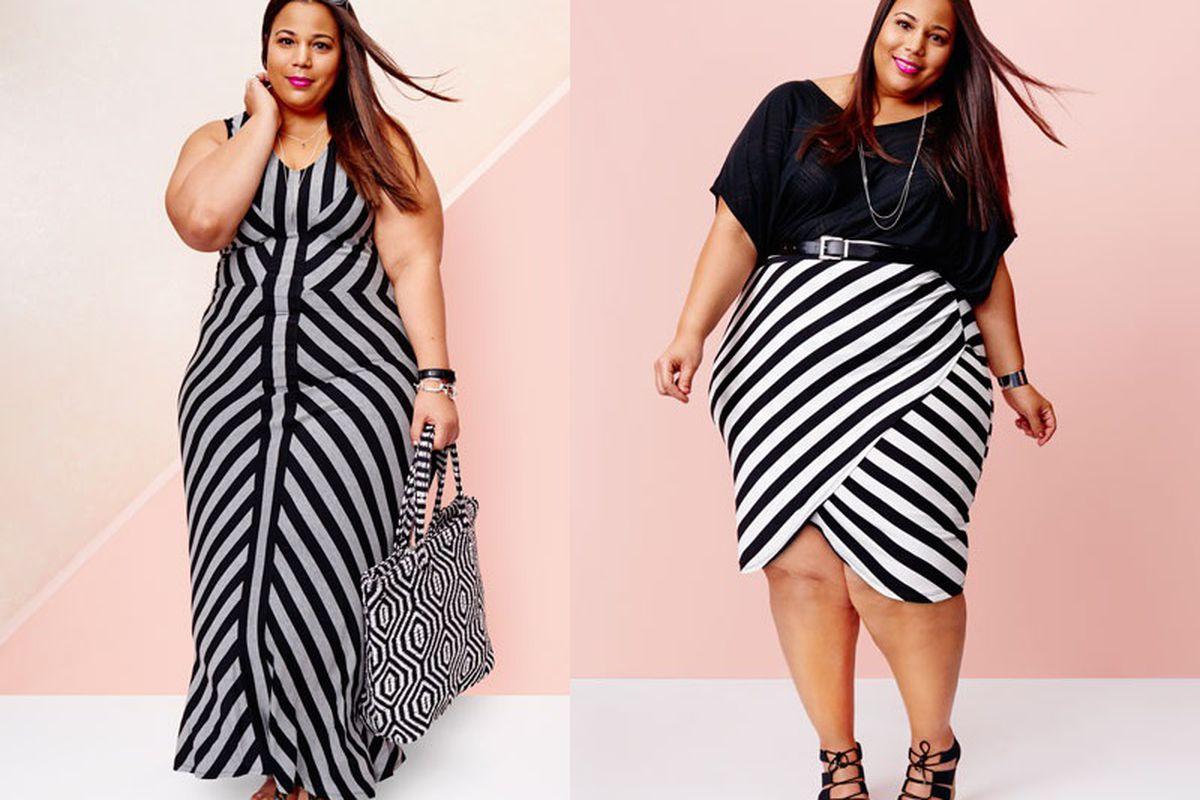 Chastity Garner models for Target's new Ava & Viv line. Courtesy photos