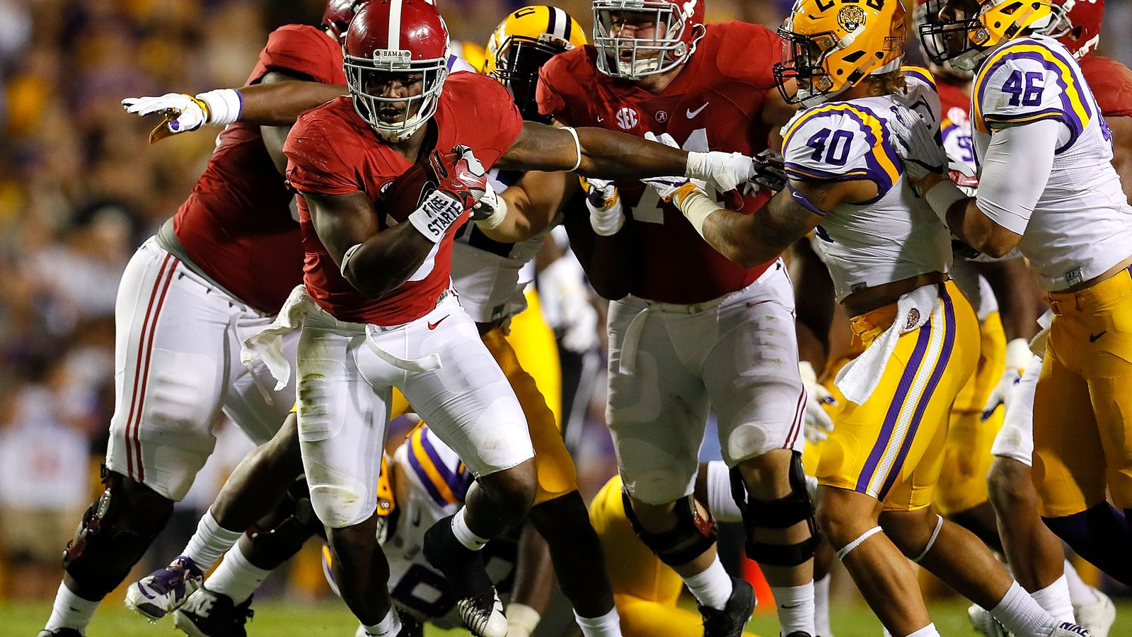 Get the latest Alabama Crimson Tide news scores stats standings rumors and more from ESPN