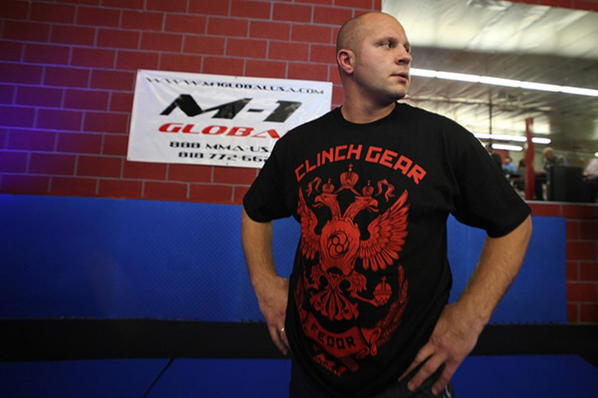 """Fedor Emelianenko will try to break his three-fight losing streak against Jeff Monson. <em>Photo by Dave Mandel for <a href=""""http://www.sherdog.com/pictures/gallery/fighter/f_1500/127468/8"""" target=""""new"""">Sherdog.com</a></em>"""