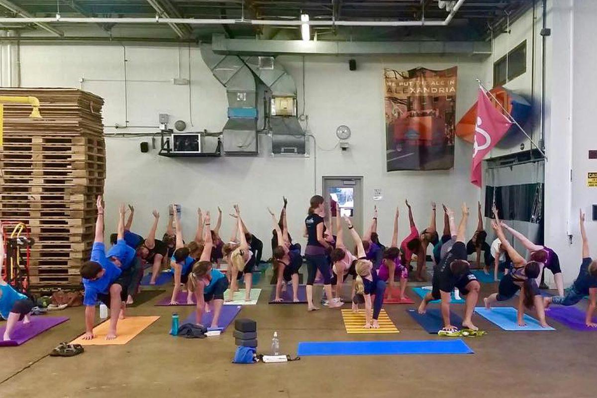 Yoga at Port City Brewing Company