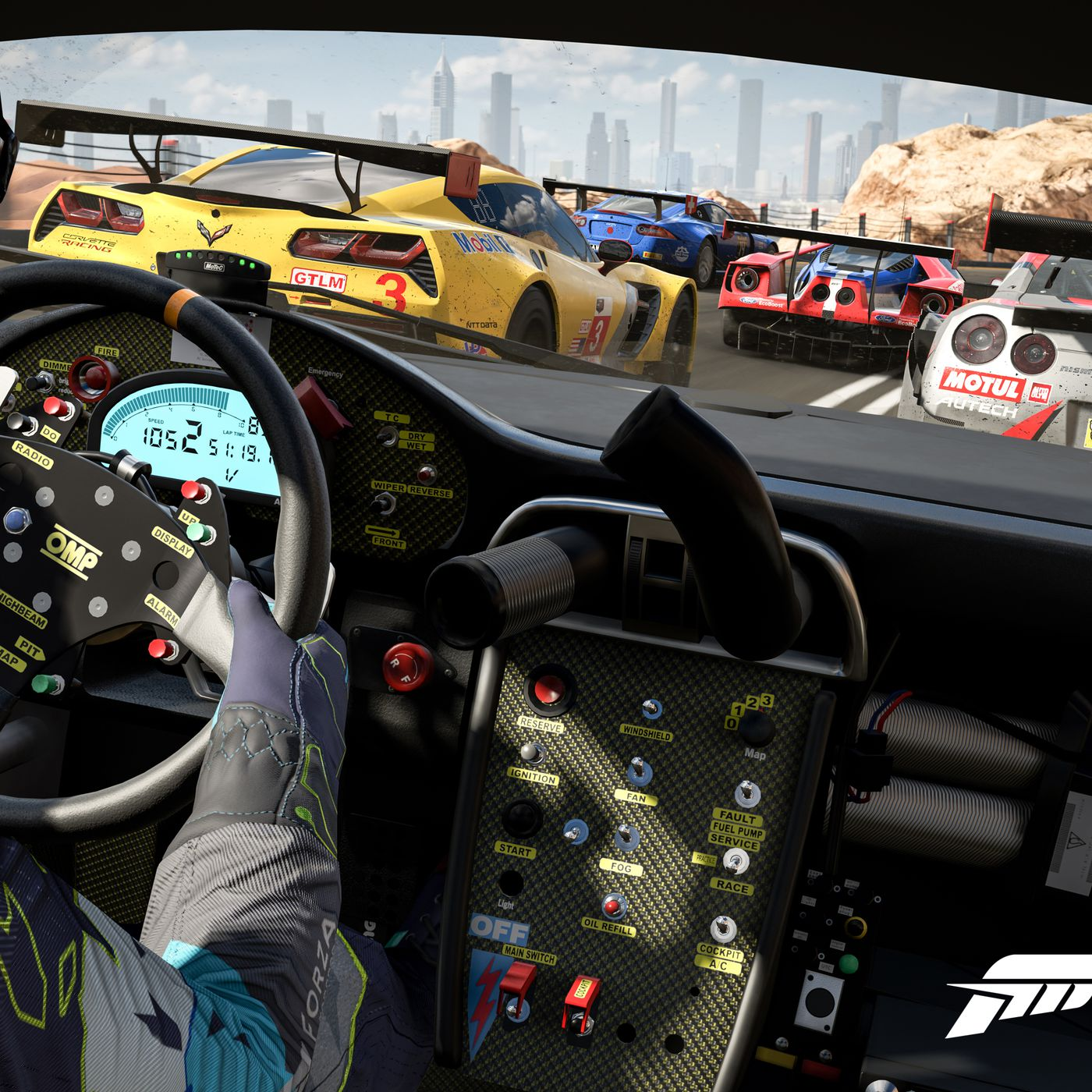 Want Forza Motorsport 7 To Look Its Very Best You Ll Need A Pc The Verge