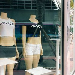 The most appropriate crop tops to wear to Avicii's at Ultra, each sold at $30.