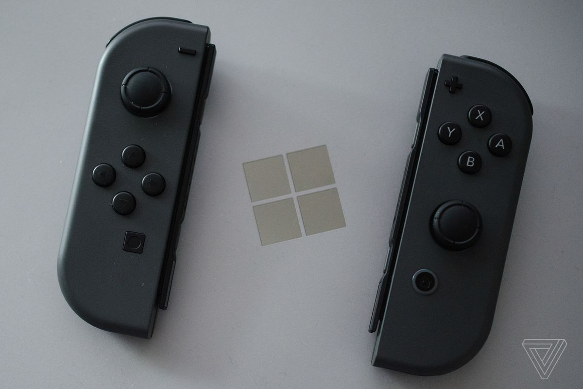 Nintendo's Joy-Con controllers also work with Windows, Mac, and
