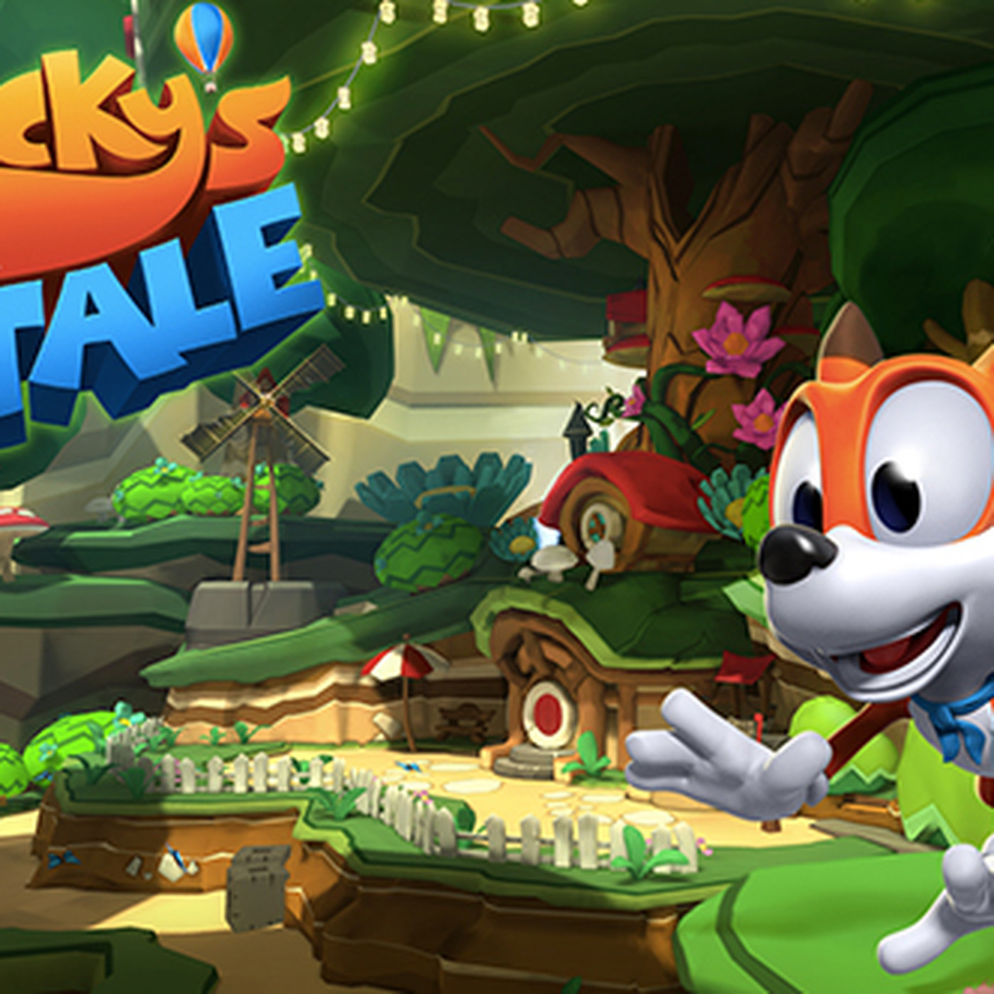 lucky s tale vr s answer to mario 64 to be included free with retail oculus rift polygon retail oculus rift