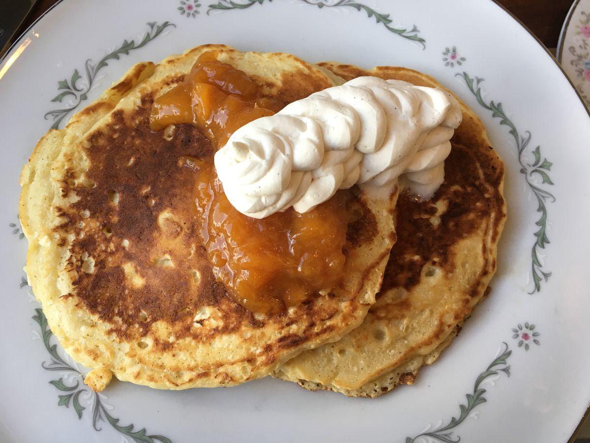 40 North's ricotta pancakes