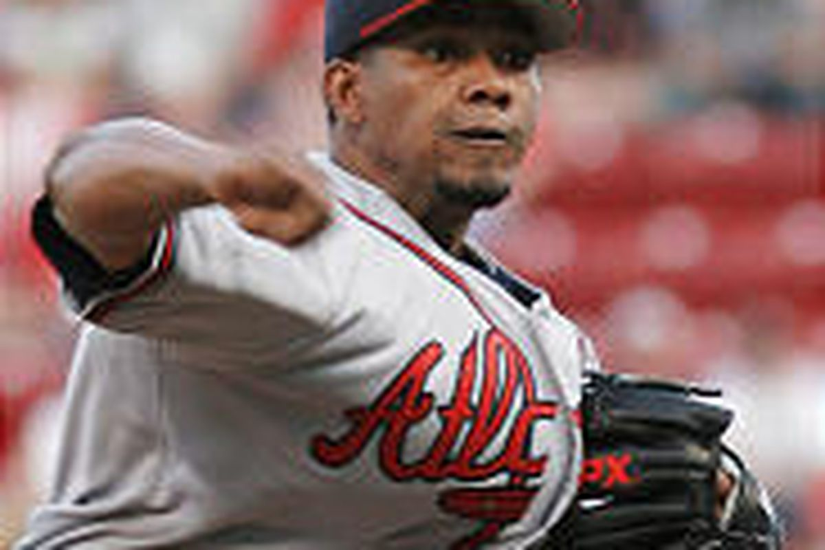 Atlanta pitcher Jorge Sosa, whose trade to the Braves didn't draw much attention, has 13 wins this year.