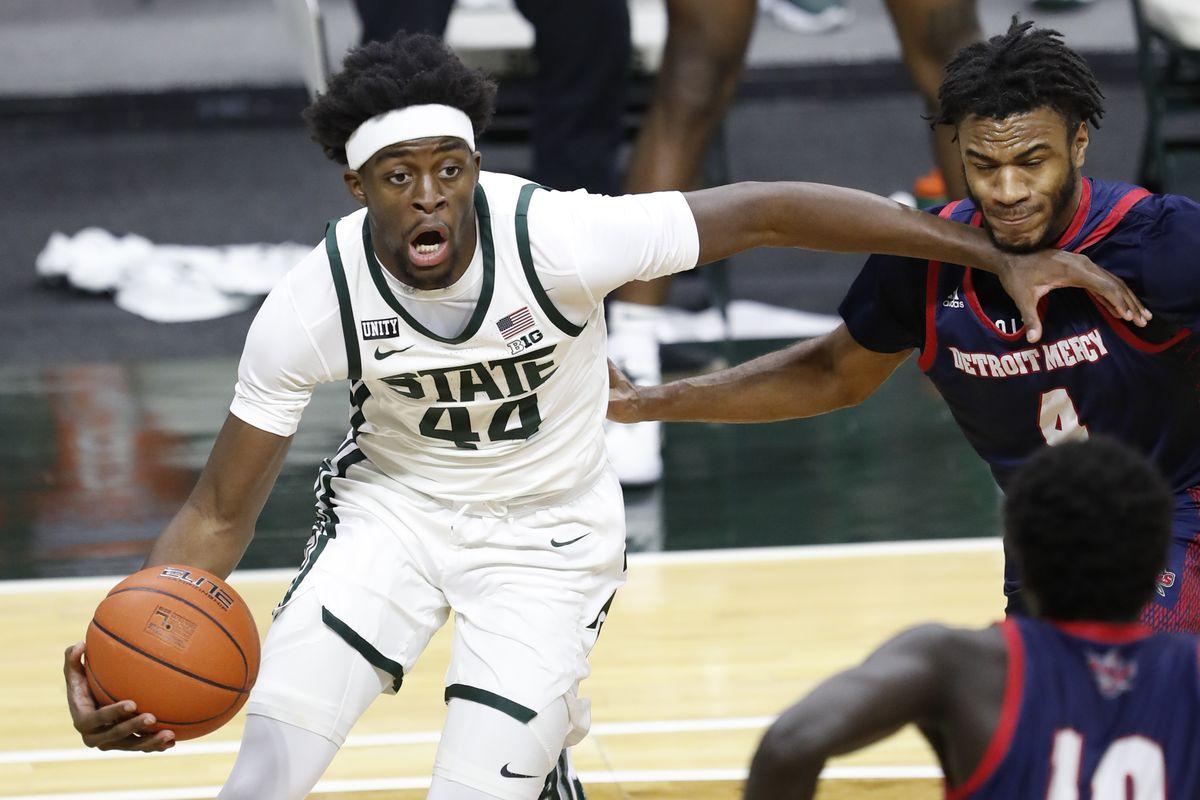 NCAA Basketball: Detroit at Michigan State