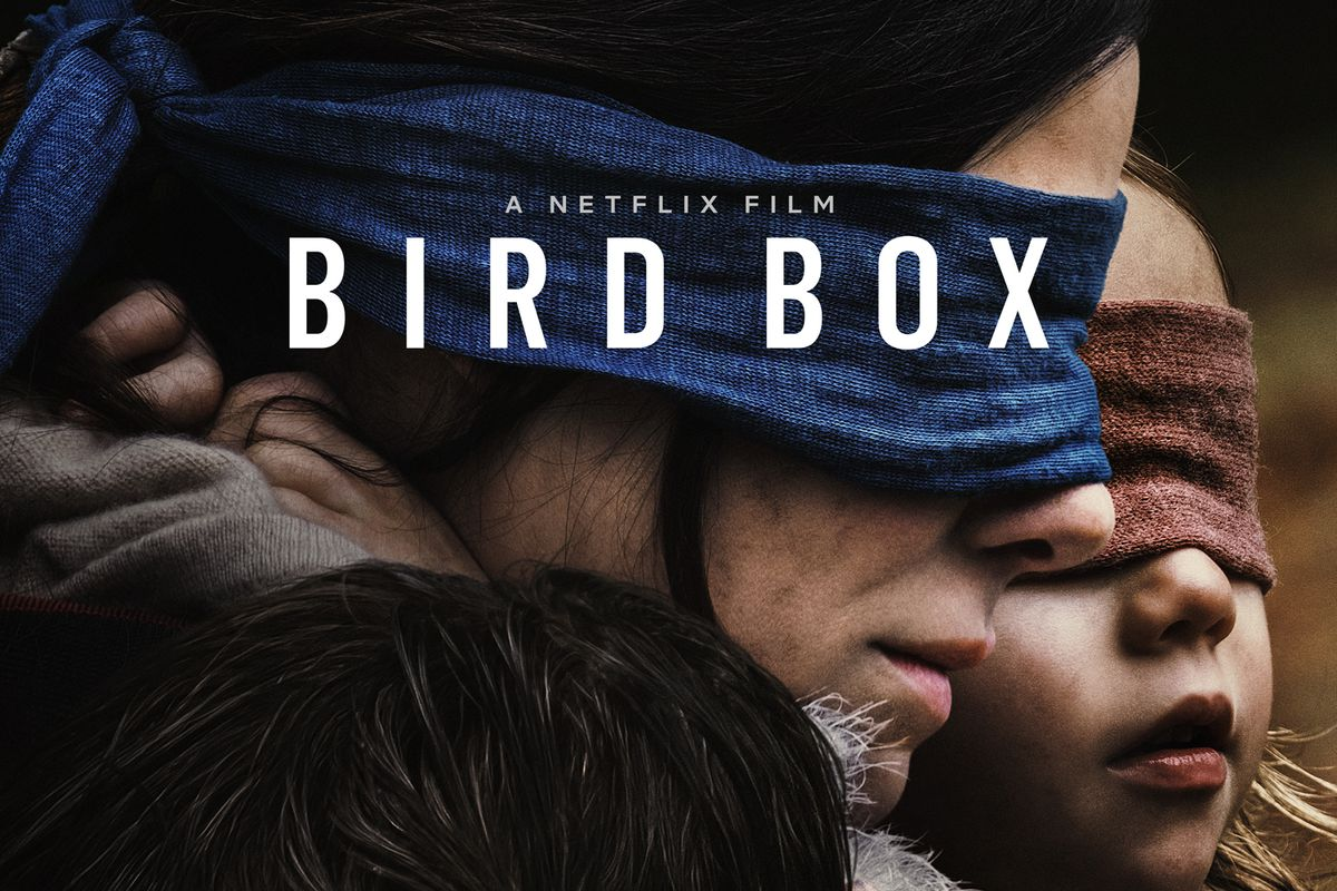 Netflixs Horror Movie Bird Box Looks Like A Quiet Place Reversed