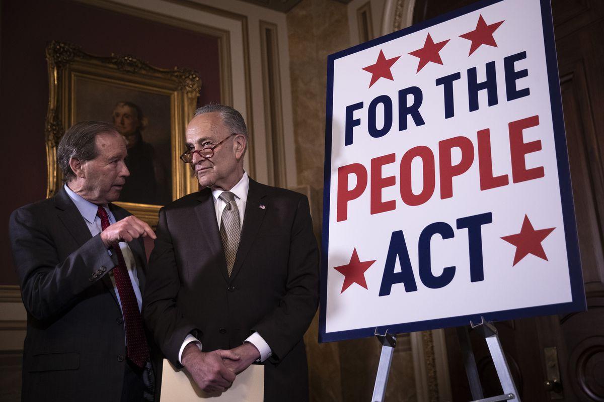 HR 1: McConnell blocks Senate Democrats' anti-corruption companion