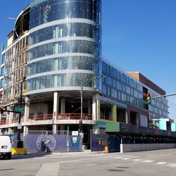 Hotel Zachary across from Wrigley, nearing completion