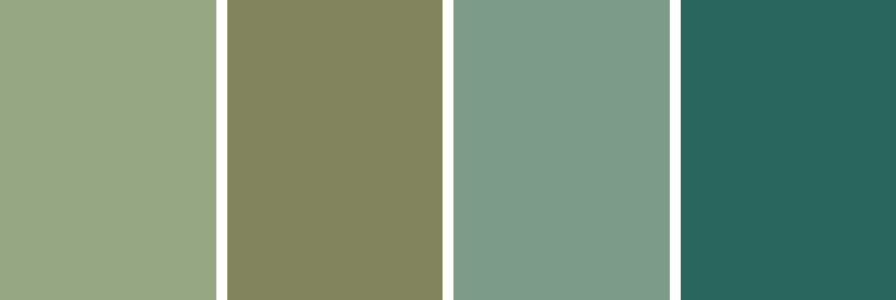 Paint colors for better sleep - Green