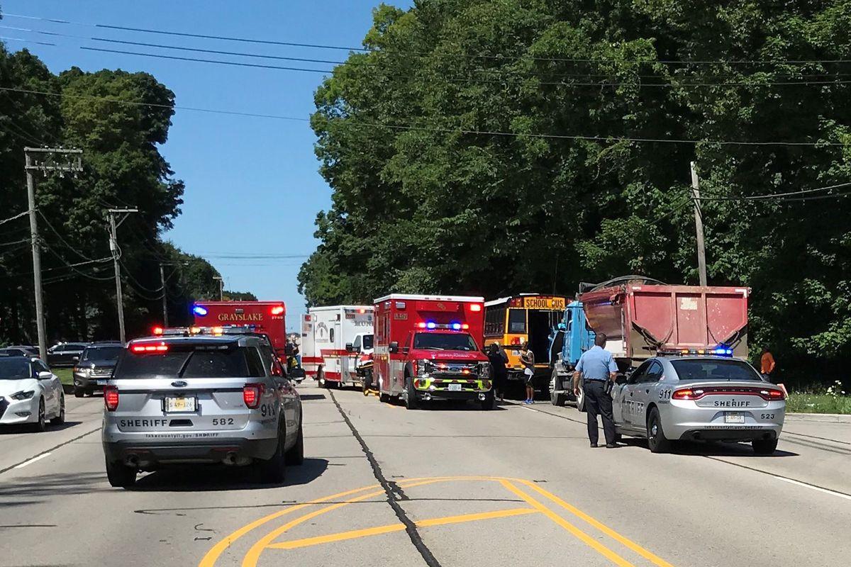 17 Hurt In Libertyville Crash Involving 3 School Buses