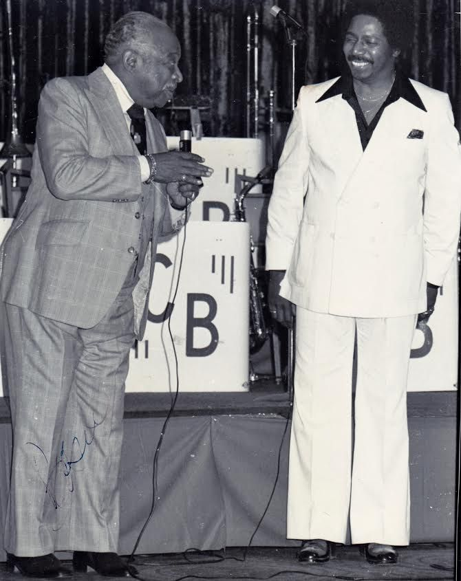 Morris Ellis with Count Basie.   Provided photo