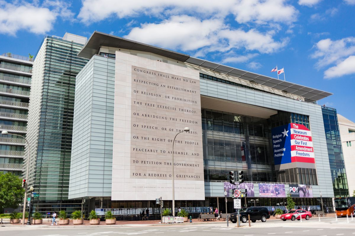 The Newseum At 555 Pennsylvania Ave NW ImagineerInc Shutterstock
