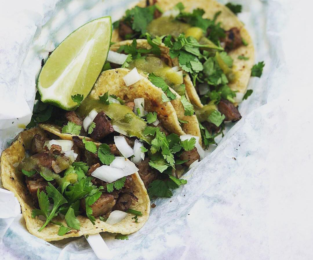 Vegan tacos from Cool Beans