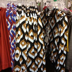 The diamond-print things here are short, lightweight jackets.