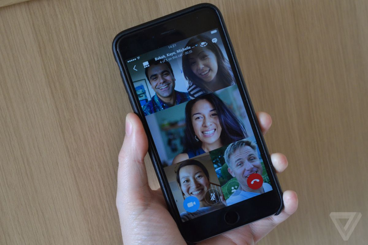 Skype group video calling arrives on iOS and Android today