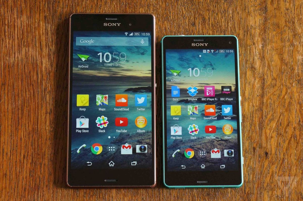 Sony Xperia Z3 And Compact Review The Verge Seken Its An Uncompromising Unforgiving Pace That Deprecates Devices Rapidly But At Each Step Has Moved Forward Which Is Not Something Can Be