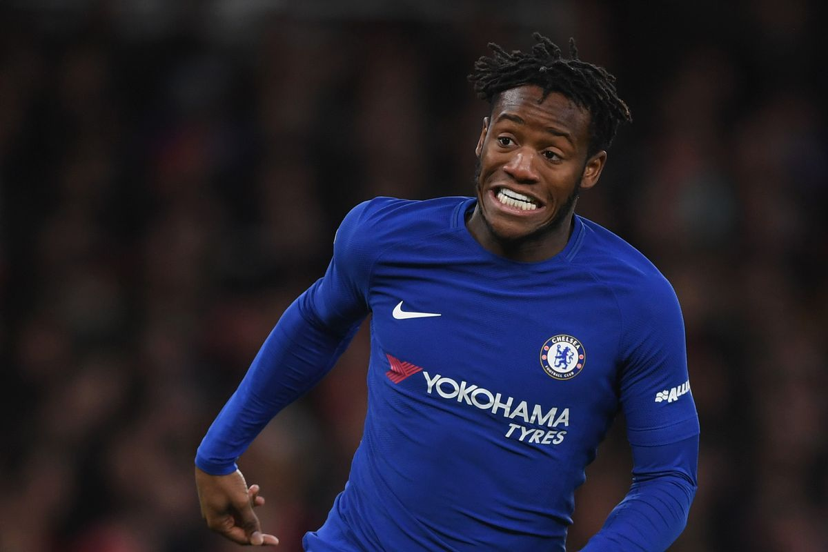 Dortmund striker Michy Batshuayi takes a swipe at Conte