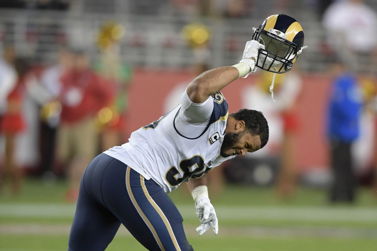 "Schefter ""We May Not See Aaron Donald For a While "" Turf Show Times"
