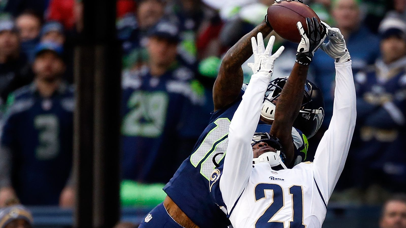 Seahawks Vs Rams Final Score Defensive Turnovers Lift Seahawks To Nfc West Title And Home