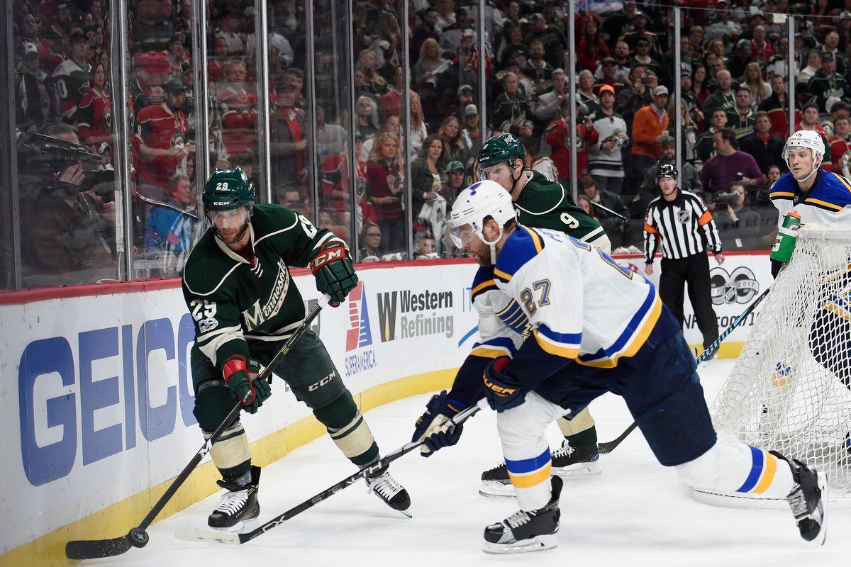 St Louis Blues v Minnesota Wild - Game Two