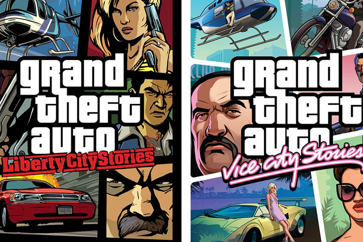 Gta 6 Cover: Grand Theft Auto: Liberty City Stories, Vice City Stories