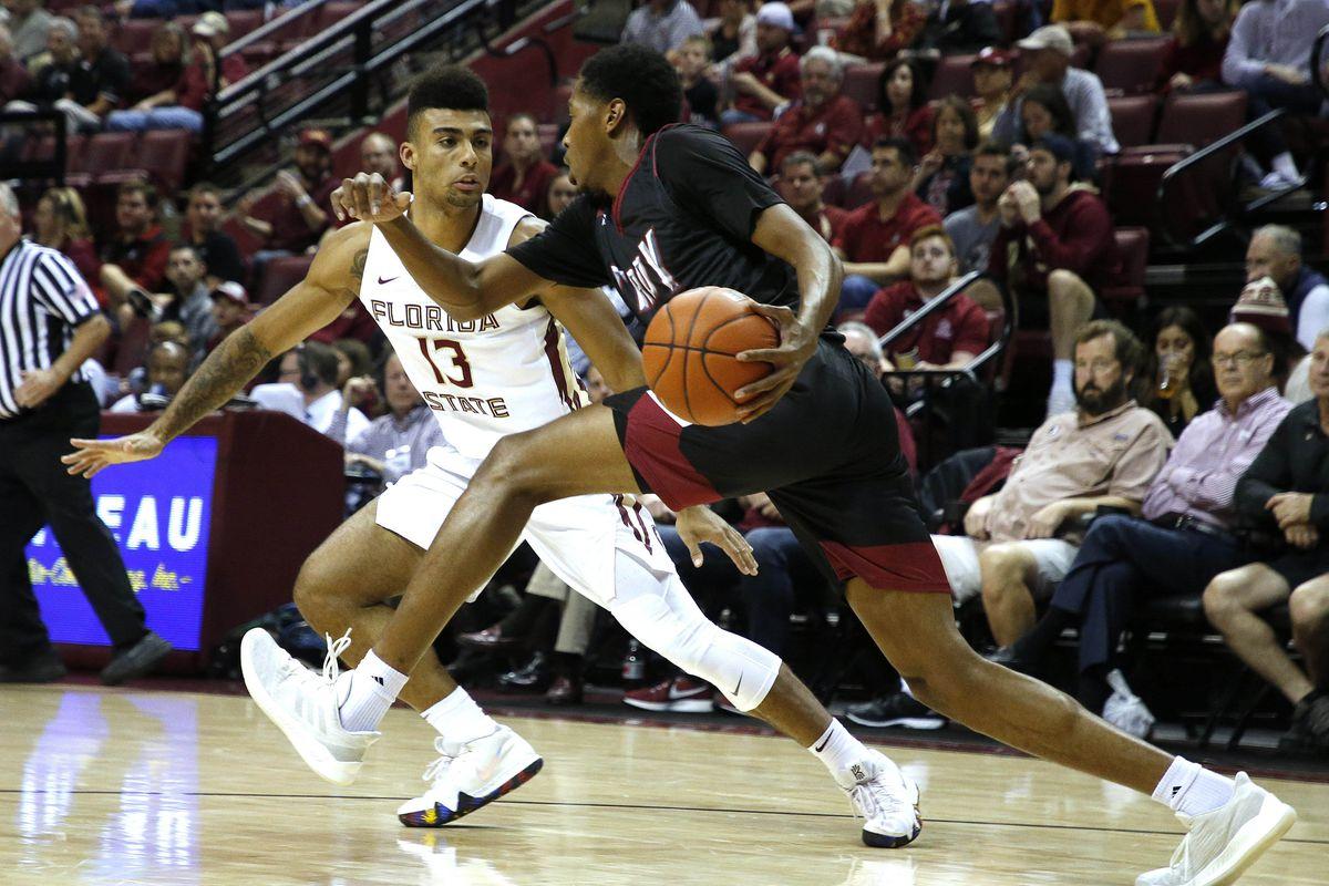 NCAA Basketball: Troy at Florida State