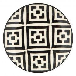Jayson Home - Moroccan Dessert Plate - Black and White ($18)