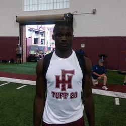 '15 DB Ronnie Harrison, of Florida High