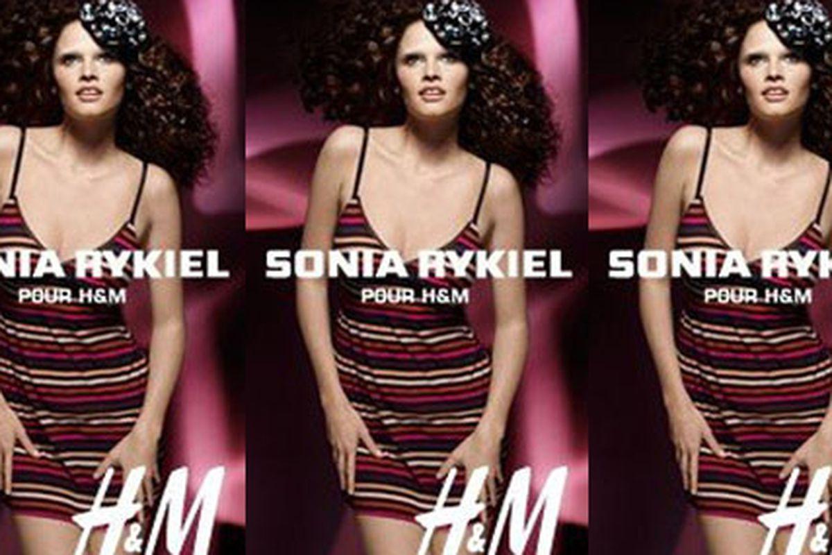 "Another Sonia Rykiel H&amp;M ad emerges. Via <a href=""http://www.nitrolicious.com/blog/2009/11/17/sonia-rykiel-pour-hm-ad-campaign-more-pics/"">Nitrolicious</a>"