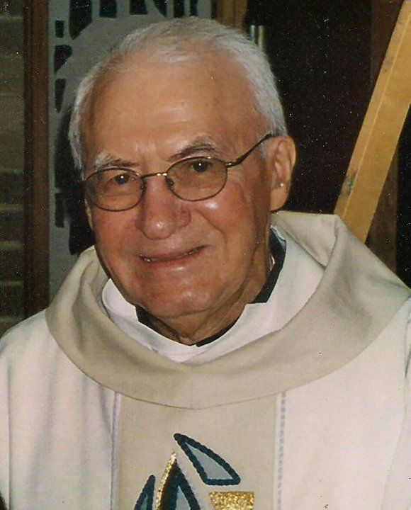 Father George McKenna ministered at Midway Airport from 1988 to 2011. | Provided photo