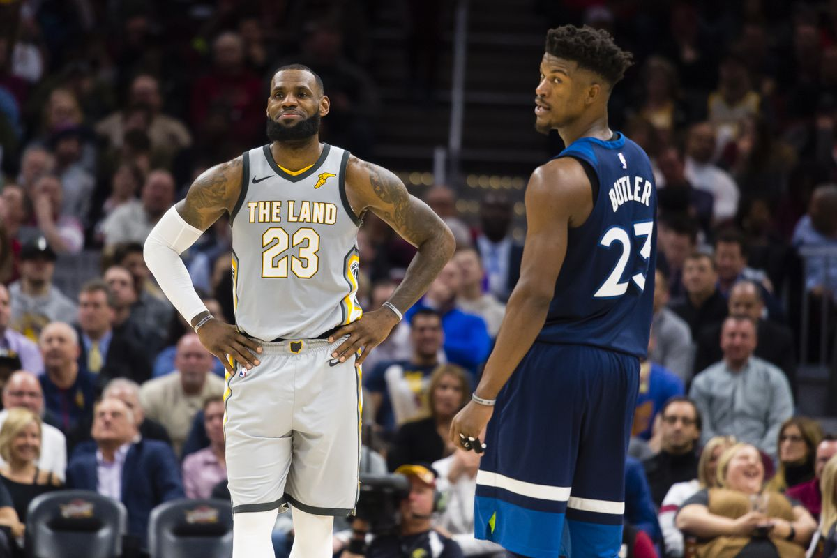 1910908a860 Jimmy Butler doesn't want to play with LeBron James. Is this a new  superstar trend?